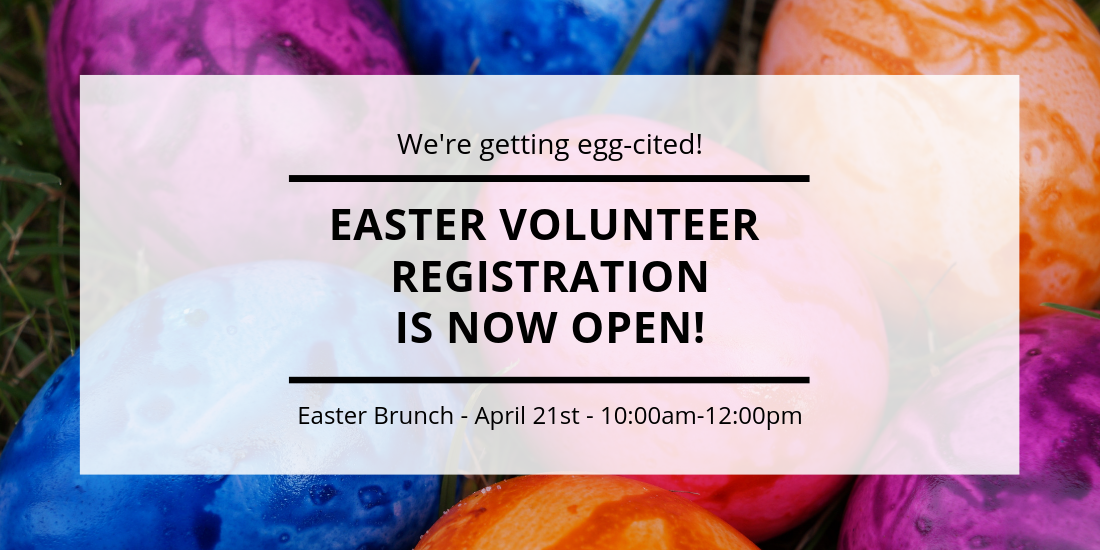 Easter Volunteer Registration